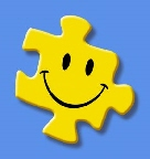 happy puzzle piece