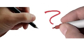 left or right handed Left handed writers
