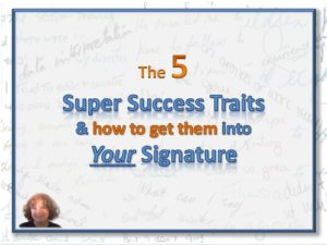 Super Success Traits