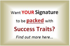 Custom Success Signature